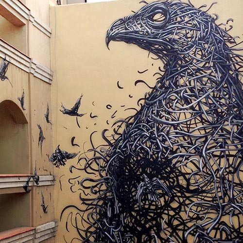 نام: Graffiti Street Art Eagle Character by Daleast 4.jpg نمایش: 57 اندازه: 85.0 کیلو بایت